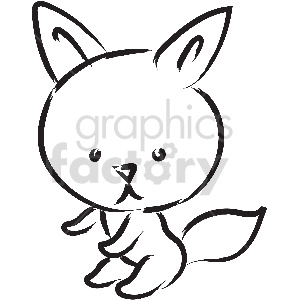 black and white tattoo dog vector clipart