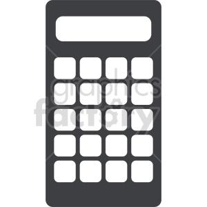 calculator vector clipart 16