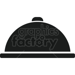 dinner tray vector icon graphic clipart 3