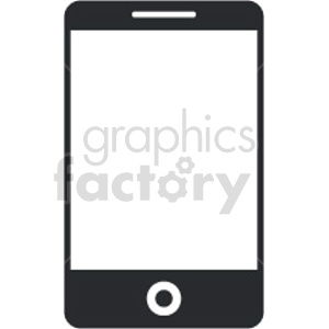 smartphone vector icon graphic clipart 13 clipart. Commercial use image # 413576