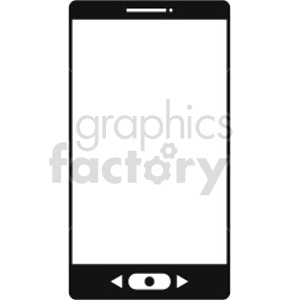 smartphone vector icon graphic clipart 14 clipart. Commercial use image # 413587