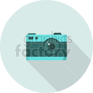 camera vector graphic 1 clipart. Commercial use image # 413607