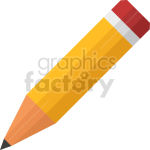pencil vector graphic icon clipart. Commercial use image # 413653