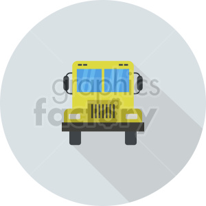 school bus vector icon graphic clipart 1 clipart. Commercial use image # 413666