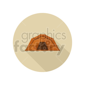 camping tent vector graphic clipart 3 clipart. Commercial use image # 413682