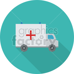 ambulance vector icon graphic clipart 3 clipart. Commercial use image # 413767