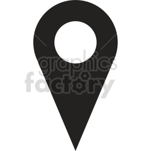 map marker vector icon graphic clipart 4