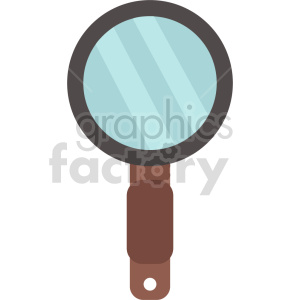 magnifying glass vector icon graphic clipart no background clipart. Commercial use image # 413846