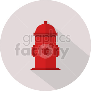 fire hydrant vector icon graphic clipart 1