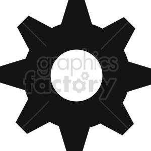 gear vector icon graphic clipart 5