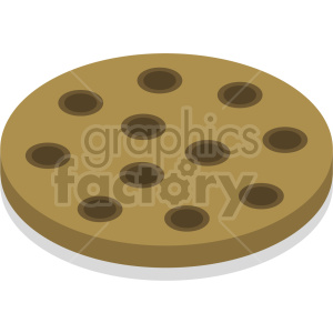 isometric cookies vector icon clipart 3 clipart. Commercial use image # 414053