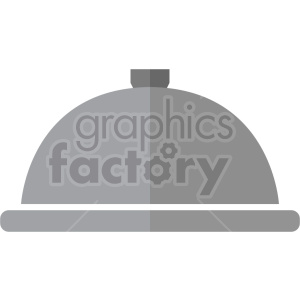 dinner tray vector icon clipart 6