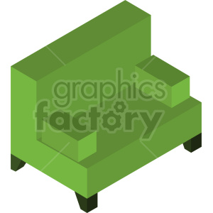 isometric couch vector icon clipart 2 clipart. Commercial use image # 414190