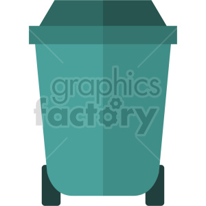 isometric trash bin vector icon clipart 2 clipart. Commercial use image # 414238