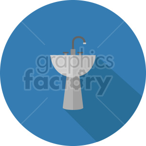 isometric sink vector icon clipart 1