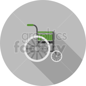 wheelchair vector icon clipart 2 clipart. Commercial use image # 414483