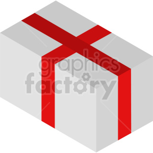 isometric presents vector icon clipart 2 clipart. Commercial use image # 414604
