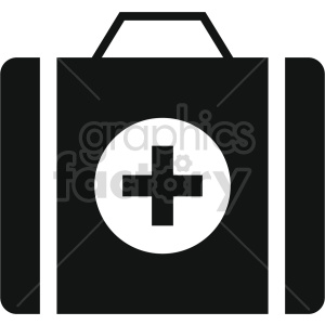 medical kit vector icon clipart 8 clipart. Commercial use image # 414618