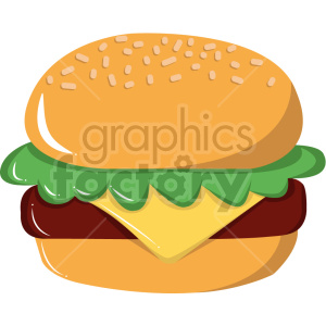 cartoon burger vector clipart clipart. Commercial use image # 414800