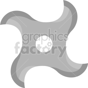 ninja star vector clipart clipart. Commercial use image # 414833