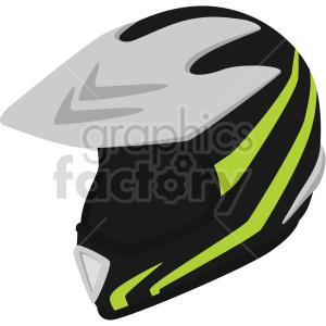 black motocross helmet vector clipart clipart. Commercial use image # 414892