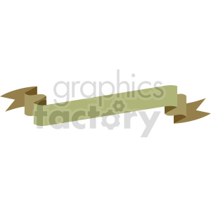 curvy ribbon design vector clipart clipart. Commercial use image # 415002