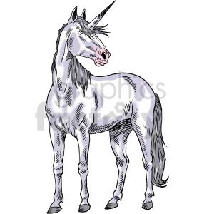 realistic unicorn clipart.ai clipart. Commercial use image # 415051