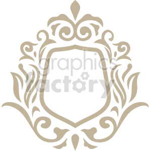 creative frame design vector clipart clipart. Commercial use image # 415073