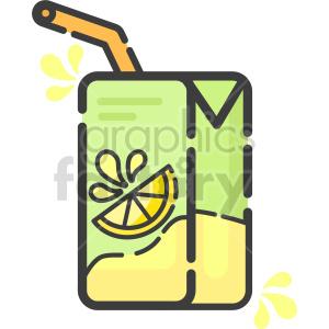 clipart - juice box clipart.