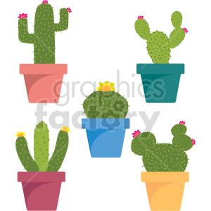 cactus vector clipart bundle clipart. Commercial use image # 415108