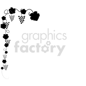 grape vine vector icons 3 clipart. Commercial use image # 415204