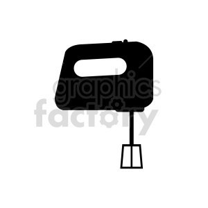 food mixer vector outline clipart. Commercial use image # 415264