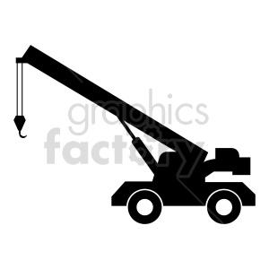 clipart - crane silhouete clipart design.