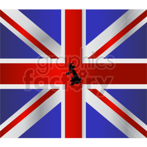 Great Britain flag vector clipart 08 clipart. Commercial use image # 415304