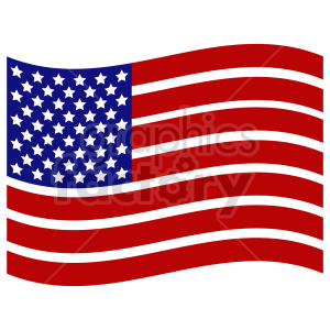 Flag of North America vector clipart 06 clipart. Commercial use image # 415318