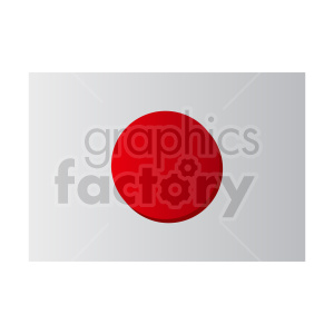 Japan flag vector clipart icon 03 clipart. Commercial use image # 415328