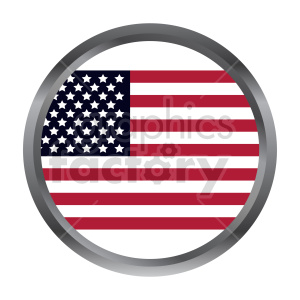 Flag of North America vector clipart 011 clipart. Commercial use image # 415344