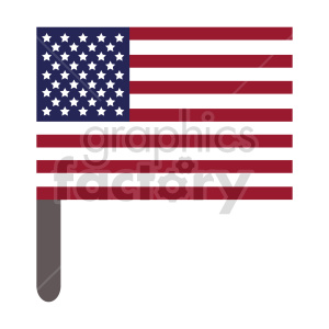 Flag of North America vector clipart 01 clipart. Commercial use image # 415389