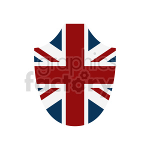 flag of the United Kingdom vector clipart 03 clipart. Commercial use image # 415399
