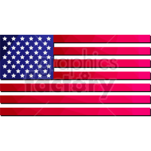 Flag of North America vector clipart 03 clipart. Commercial use image # 415406