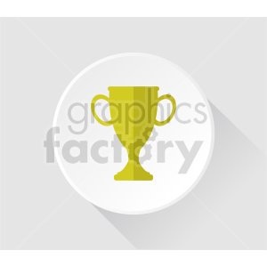 trophy symbol vector clipart clipart. Commercial use image # 415451