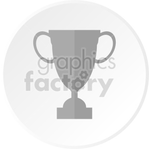 clipart - trophy cup vector clipart.