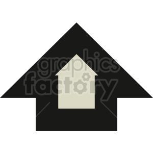 large arrow icon vector clipart