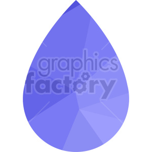 purple water drop icon vector clipart clipart. Commercial use image # 415500