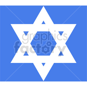 star of david vector clipart clipart. Commercial use image # 415545