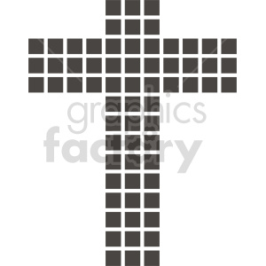 cross vector clipart clipart. Commercial use image # 415546