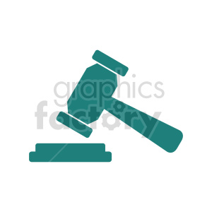 justice hammer clipart clipart. Commercial use image # 415564