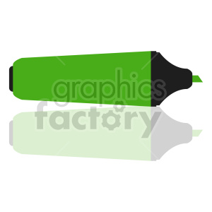 highlighter marker vector clipart icon clipart. Commercial use image # 415585
