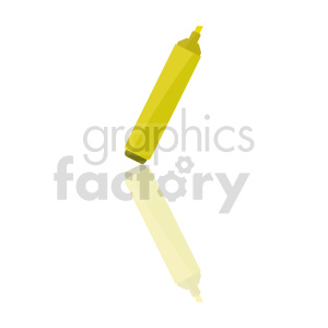 highlighter marker vector clipart clipart. Commercial use image # 415595