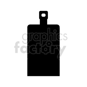 cutting board silhouette vector clipart clipart. Commercial use image # 415601